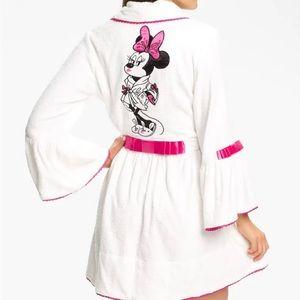 Disney for Betsey Johnson Minnie Mouse Bathrobe